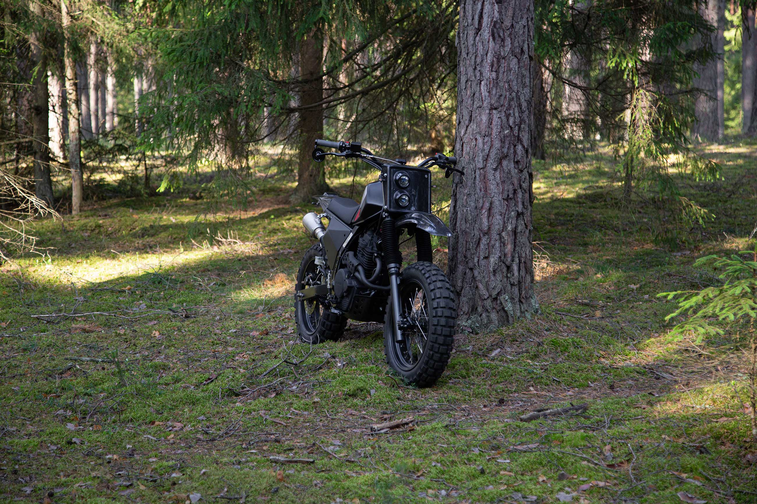 Honda NX650 Dirt Tracker/Scrambler by Differs