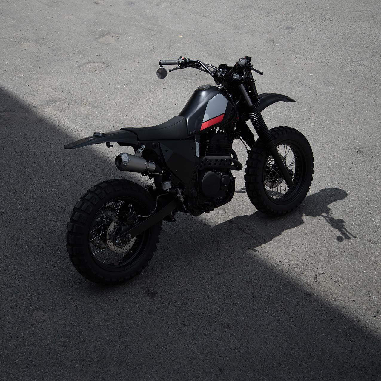 Honda NX650 Dirt Tracker/Scrambler by Differs
