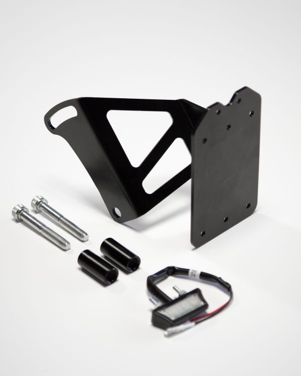 License plate side holder for BMW R nineT