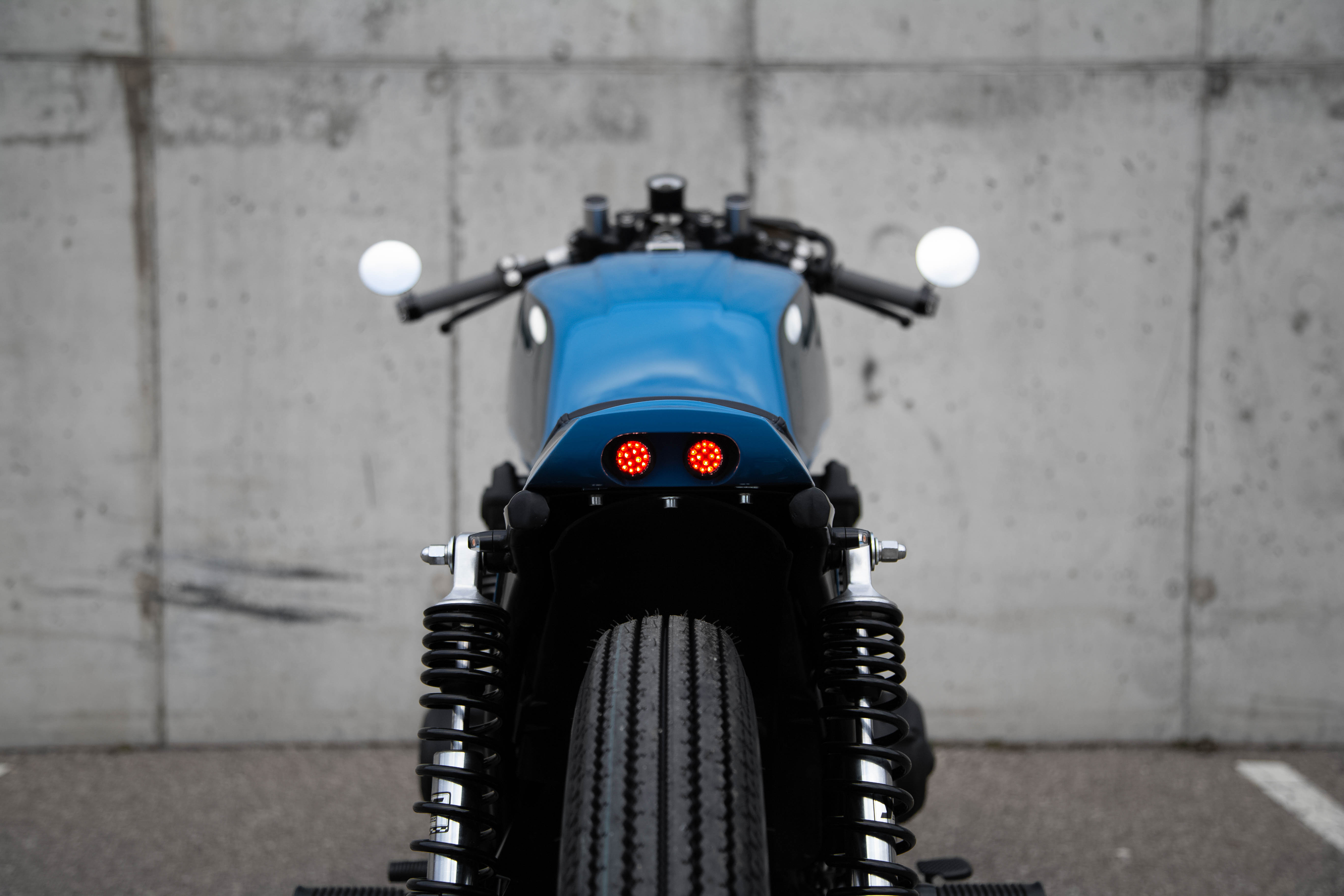 Honda CB750 Cafe Racer by Differs